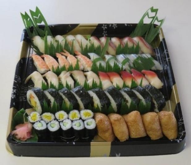 太巻き&いなり寿司付 にぎり寿司5人前セット(持ち帰りずし)